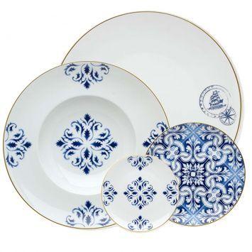 Porcelana Vista Alegre - louça portuguesa com carinha de louça portuguesa…