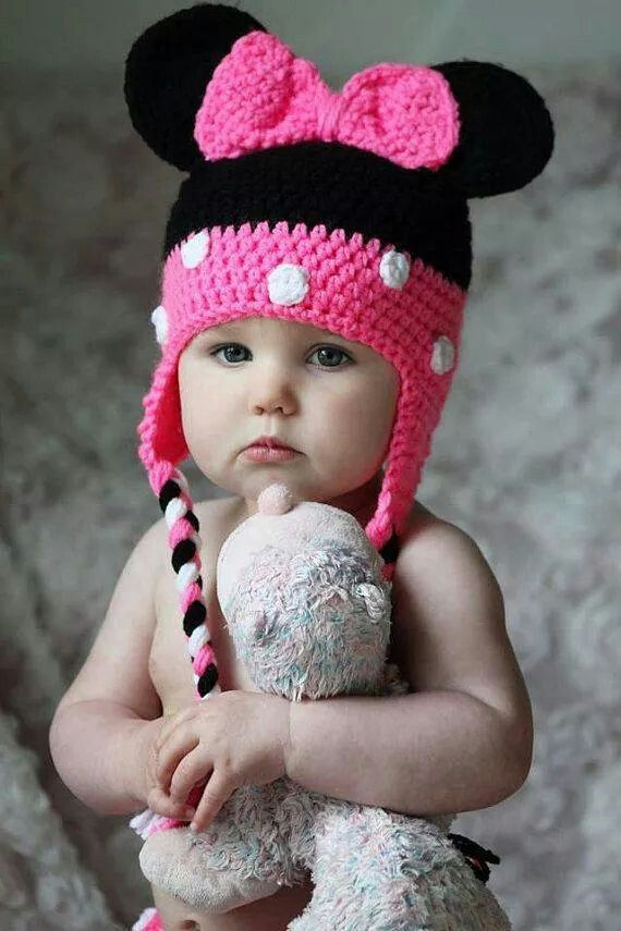 Minnie mouse crochett