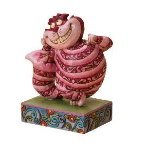 Amazon.com: Disney Traditions designed by Jim Shore for Enesco Cheshire Cat Figurine 4 IN: Home & Kitchen.