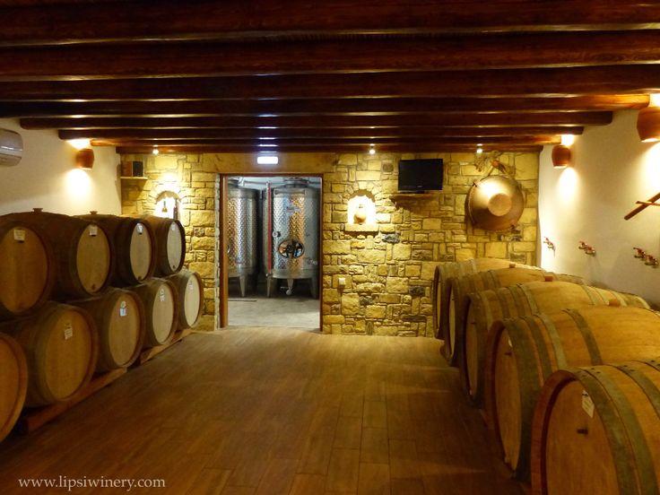 Cellar, Lipsi Winery