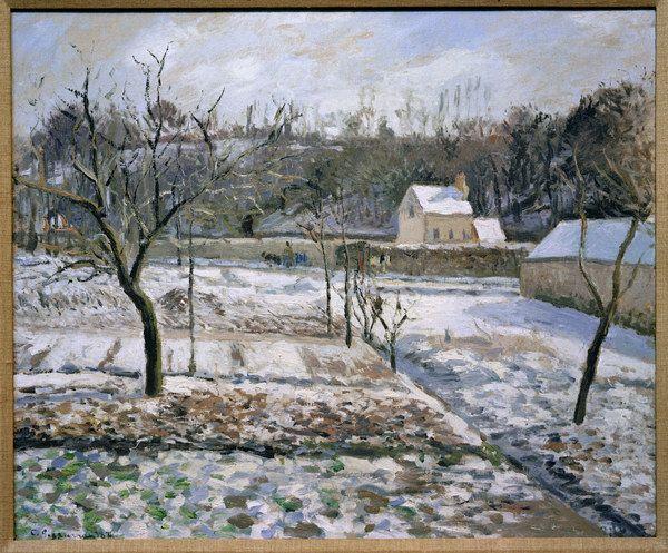 Camille Pissarro - L'Hermitage, Pontoise
