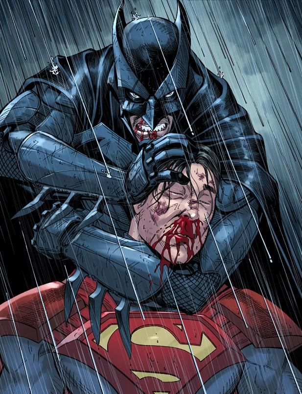 Batman vs. Superman by Mike S. Miller *