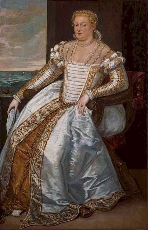 Venice, Republic of Venice, Attr. to Giovanni Antonio Fasolo, 1565-70: Portrait of A Lady, Chicago, Art Institute