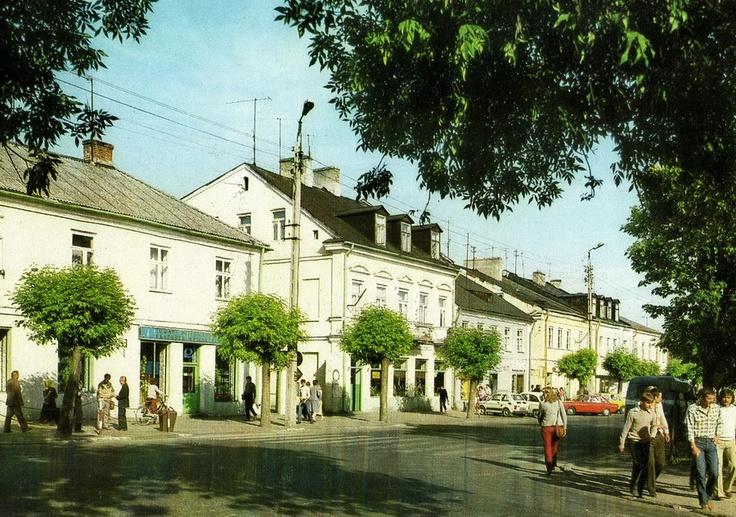Biała Podlaska, Plac Wolności, 1980 - 1983 r.