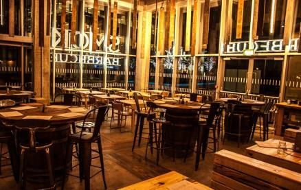 If you like meat, smoked, barbecued on the open fire pit, you are in the right place! Voted best Sheffield City Center restaurant...