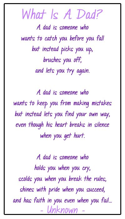 Father's Day Poems From Daughter   Father S Day......