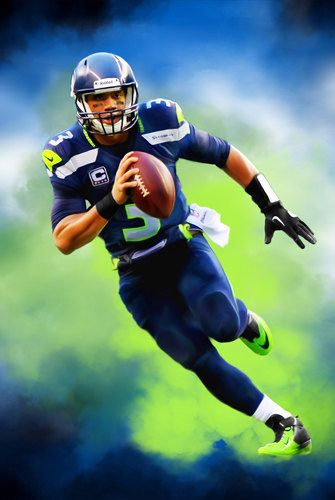 1000 images about nfl art seattle seahawks on pinterest seattle seahawks russell wilson and - Seahawks wallpaper russell wilson ...