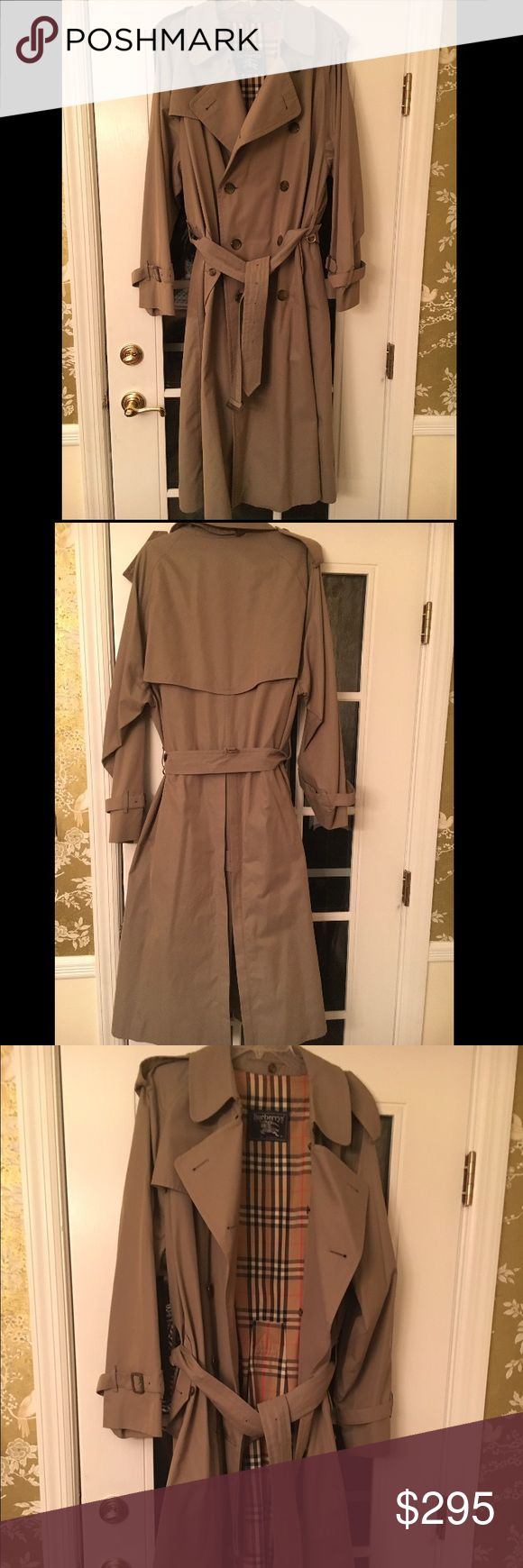 Men's Burberry trench Classic men's Burberry trench, in fantastic condition! Burberry Jackets & Coats Trench Coats