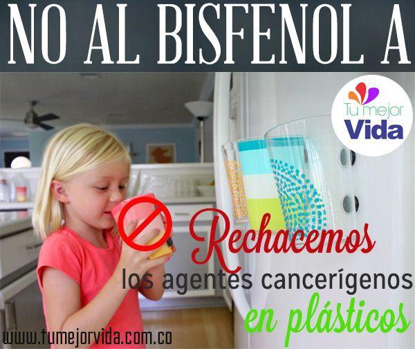 #SaludTumejorvida Otro agente cancerígeno, muy cerca de todos nosotros, entérate ¿Qué es el Bisfenol A? Se encuentra en muchos de los utensilios plásticos en que bebemos y comemos. ¿Ustedes que opinan?. http://www.elconfidencial.com/alma-corazon-vida/2013/04/10/un-informe-certifica-que-el-bisfenol-a-es-cancerigeno-y-esta-por-todas-partes-118495