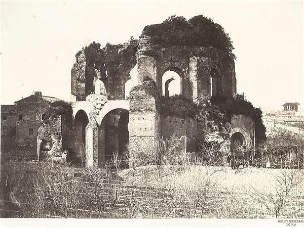 1860/65 circa Molins Pompeo . Tempio di Mineva Medica.
