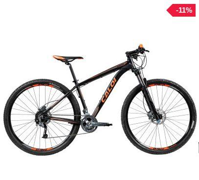 Mountain Bike Caloi Moab - Aro 29 - Freio Shimano - Cambio Shimano - 27 Marchas