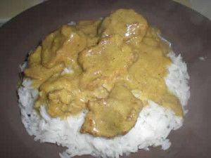 Sauté de porc au curry facile avec cookeo
