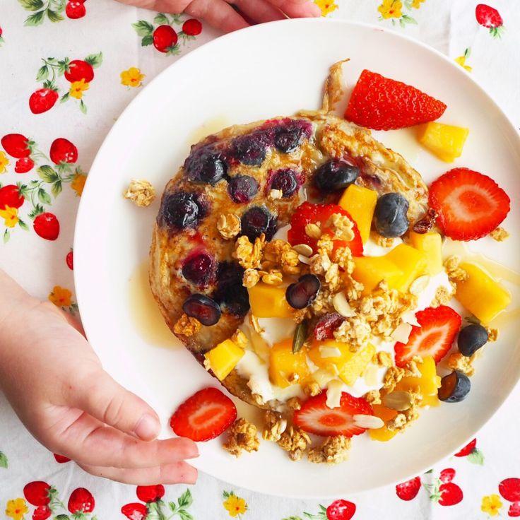easy peasy 2 ingredient pancakes