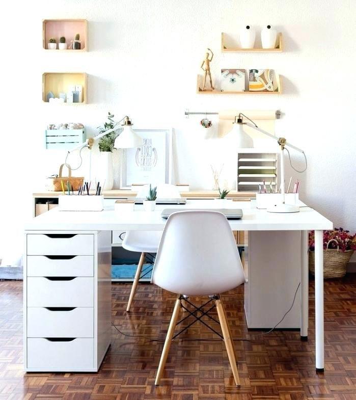 32 Cozy Desk Office Decoration Ideas Http Prlinkdirectory Info 32 Cozy Desk Office Decorat Contemporary Home Office Home Office Space Ikea Home Office