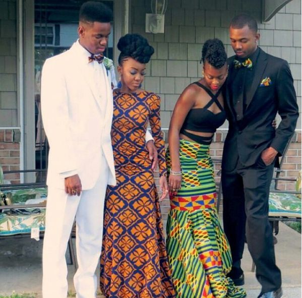 These two beauties, which both totally stunned. | 18 Beautiful African Prom Dresses That'll Give You Goals