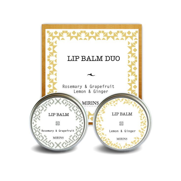 Lip Balm Duo  Our Lip Duo contains 2 Lip Balms    Includes Lip Balm Rosemary and Grapefruit, Lip Balm Ginger and Lemon