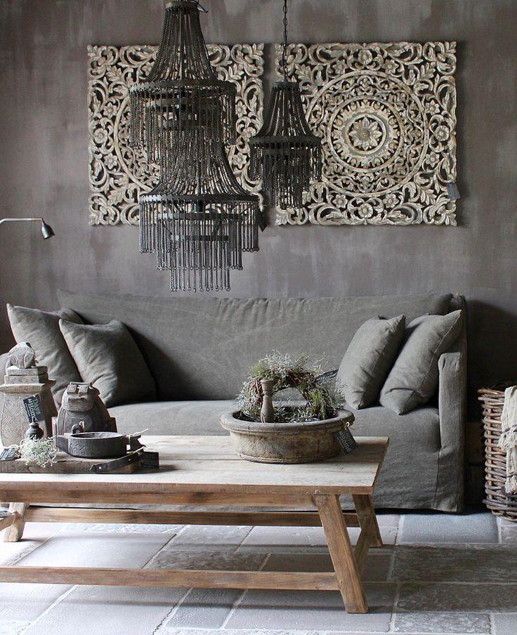 25 beste idee n over houten bank op pinterest tuinmeubilair sofa ontwerp en rustieke bank - Schilderij kamer ontwerp ...