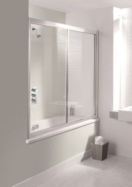 SUPREME Overbath Slider in Bath Screens | Simpsons - Shower Enclosure Products