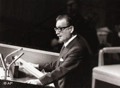 Presidente Allende en Naciones Unidas