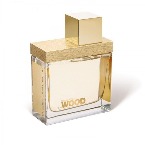 Dsquared Golden Light Wood for Women - 50 ml - Eau de parfum