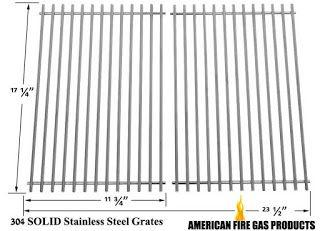 Weber Genesis 7526, 7525, 7527, 9869, Genesis 1000-3500 Solid Stainless Cooking Grid,