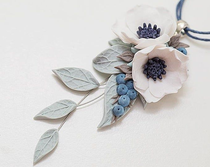 White Anemone Earrings Bridal Earrings White Poppy Flower Etsy In 2020 White Poppy Flower Floral Jewellery Flower Jewellery