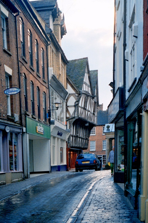 Ludlow / Shropshire / UK - photograph by L. Hewitt