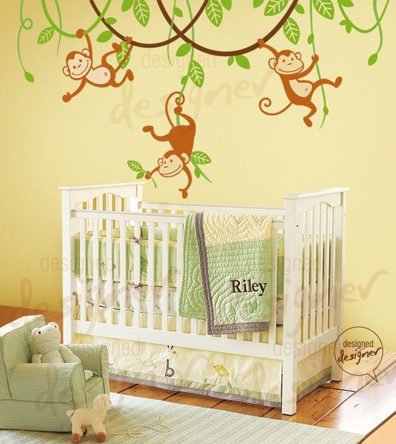 20 best Jungle/Zoo themes images on Pinterest | Child room, Babies ...