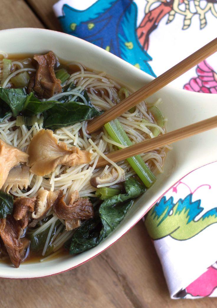 asian mushroom recipes
