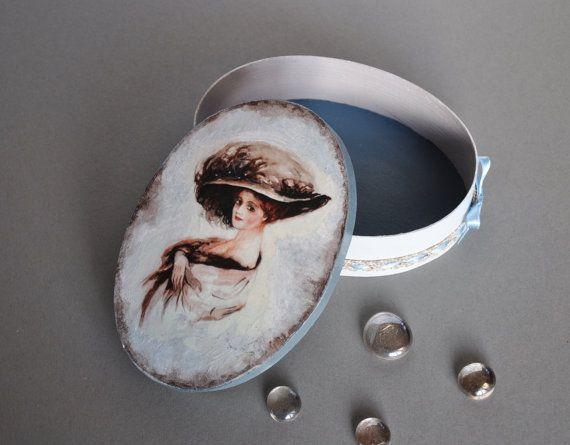 Boîte décorative boîte style romantique boîte par AgaArtFactory