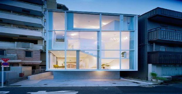 Narrow House Exterior Design