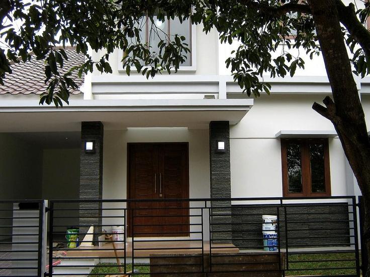 inspirasi kanopi teras depan. lokasi : di Kemang Pratama, Bekasi. more photos www.DParsitek.com