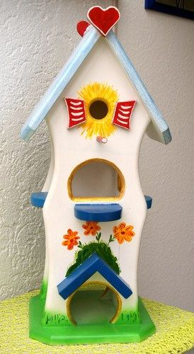 selbstgemachtes Vogelhaus - Unikat