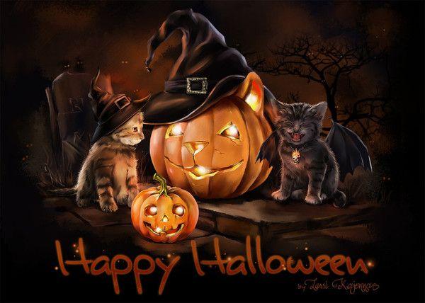 Boldog Halloween Kajenna
