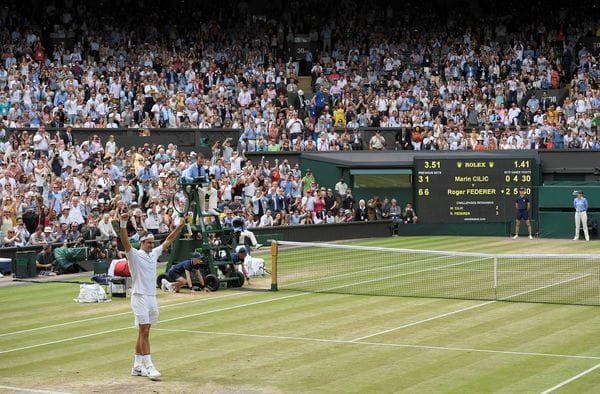 La historia del tenis se rinde ante Roger Federer: otra vez campeón en Wimbledon - 2017