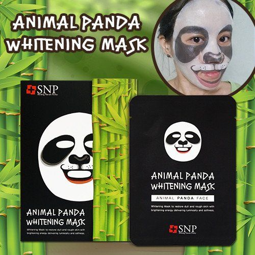 [SNP] ANIMAL PANDA WHITENING MASK (1 BOX) #mask