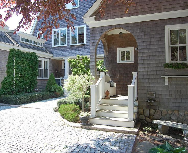 1318 best house styles details images on pinterest for Cape cod exterior design