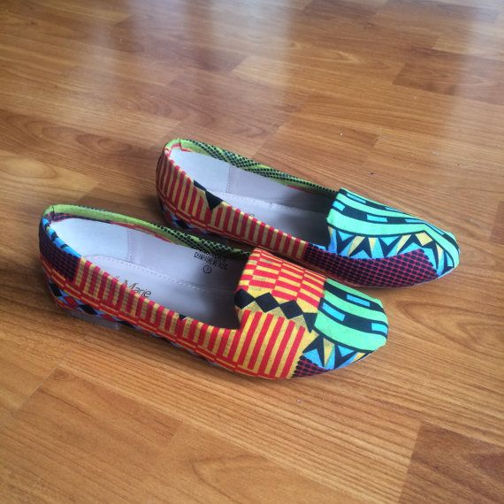 African flats by Africanredsoil on Etsy