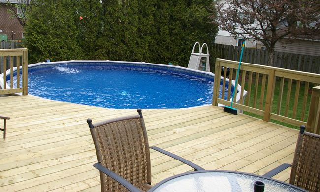50 best pallets images on pinterest pallet ideas pallet for Above ground pool decks made from pallets