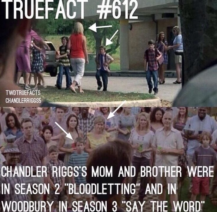 The Riggs family in 2 episodes - Fangirl - The Walking Dead