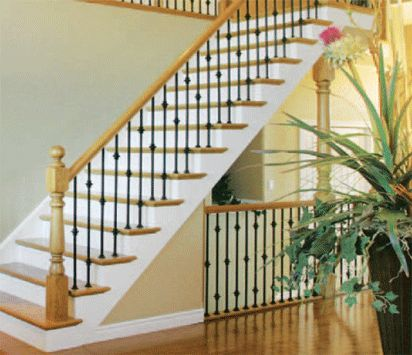 Stair Railing Ideas Staircase Makeover Basement Steps