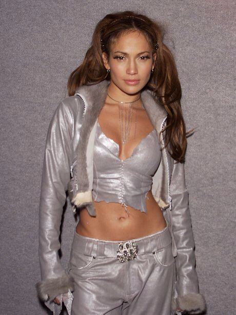 metallic jlo ghetto fabulous rnb 2000 early millennium fashion style