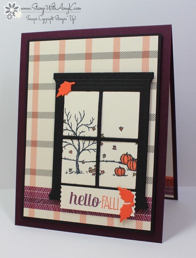 Happy Scenes - Stamp With Amy K