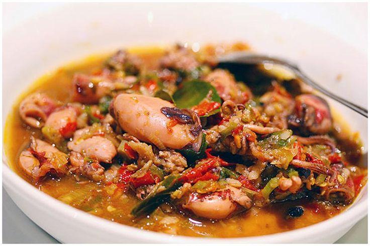 Cumi woku belanga (squid)