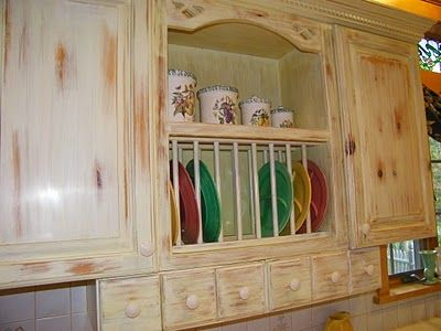 swedish dish rack and apothecary drawers