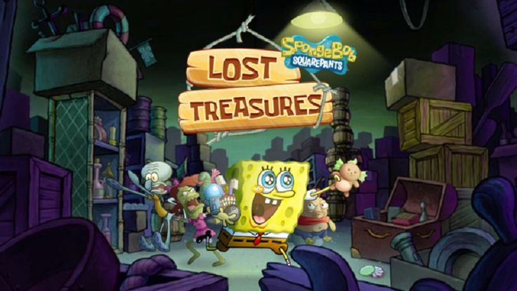 In SpongeBob Lost Treasures, think you know which chest has gold treasure in it? Test your luck in this fun online puzzle game and choose the right chest! In SpongeBob Squarepants game of luck, a free online mini puzzle game, you'll be shown different treasure chests. Pick the one with gold treasure in it and move on to the next. Pick the one with a jellyfish attack hidden inside and you'll lose a life. Once you've lost three lives in t