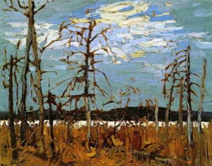 Tom Thomson: Tamarack Swamp