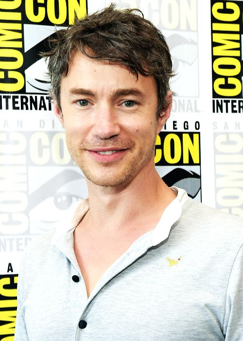 Tom Wisdom attends the #Dominion Press Line during Comic-Con International 2014 at Hilton Bayfront on July 25, 2014 in San Diego, California.