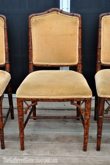 Found: Antique Chinese Chippendale Chairs