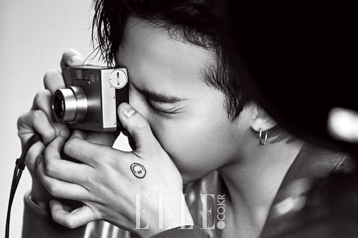 G-Dragon - Elle Magazine September Issue '16
